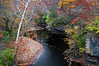 KR 022                     Autumn on Rock Creek, Kankakee River State Park, Illinois.