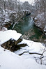 KR 016                       Winter on Rock Creek, Kankakee River State Park, Illinois.