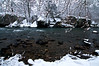 KR 010                       Winter on Rock Creek, Kankakee River State Park, Illinois.