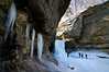 SR 049                      Winter in LaSalle Canyon at Starved Rock State Park, Utica, Illinois.