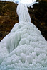SR 059                         An ice fall in Tonty Canyon at Starved Rock State Park, Utica, Illinois.
