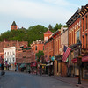 Early morning in Main Street. Galena, IL<br /> <br /> IL-090525-0012