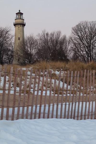 Grosse Point Winter Scene
