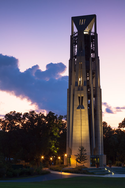 Moser Tower at Dusk