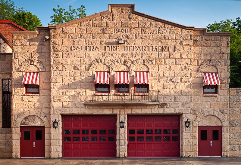 Galena fire department. Galena, IL<br /> <br /> IL-090525-0021