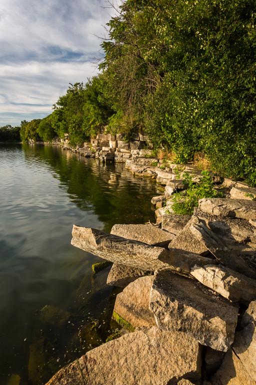 Limestone Shoreline