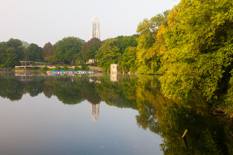 Quarry Lake in Late Summer