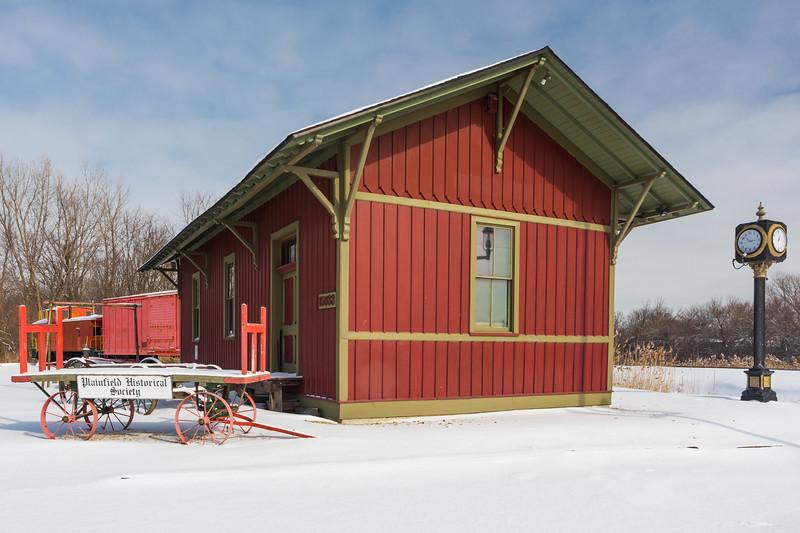 EJ&E Plainfield Depot