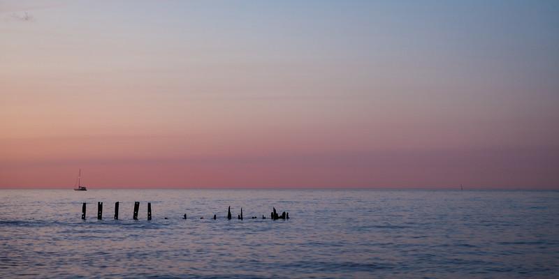 Evanston Sunset Sky