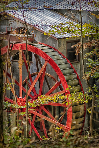 Water Mill at Smith Mill in Rinard