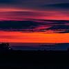 A Farmer's  Sunset