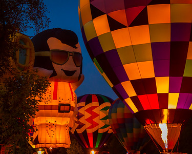 Elvis is Alive at the Balloon Fest