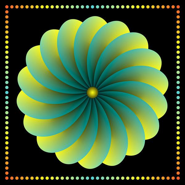 Neon Night Spin-Daisy