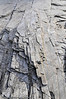 Løs stein ved elvebredden til Abiskojokka i Sverige