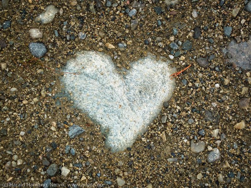 Hjerte i stein (ikke hjerte av stein)