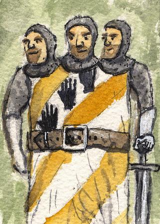 3headed knight