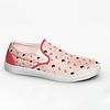Kitty Pattern - Slip on Sneakers