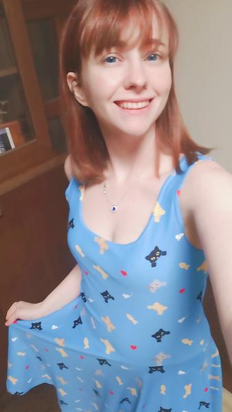 Kitty A-line Dress