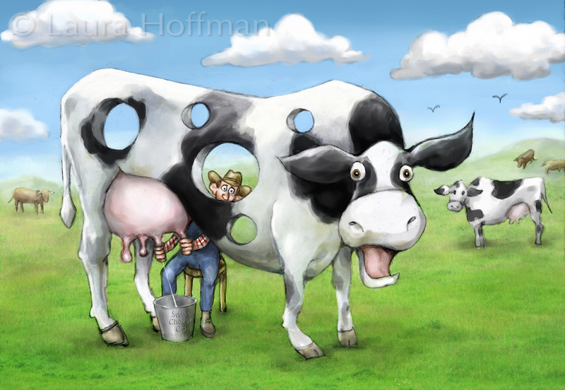 Holey Cow<br /> All Rights Reserved, copyright Laura Hoffman, 2010