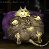 Fat Cat<br /> <br /> Idiom Project<br /> By Laura Hoffman<br /> <br /> Won acceptance into the Society of Illustrators of Los Angeles,<br /> Illustration West 48<br /> <br /> All Rights Reserved, copyright Laura Hoffman, 2010