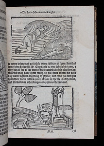 Author: Sir John Mandeville Title: The voyages and travailes of Sir John Mandeville knight (London, 1582?) Shelfmark: M.20.38a   (catalogue record)