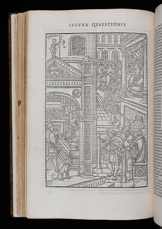 "<b>Author:</b> Jean Milles de Souvigny<br> <b>Title:</b><i> Praxis criminis persequendi</i> (Paris, 1541)<br> <b>Shelfmark:</b> H.1.17(2)  <a href=""http://idiscover.lib.cam.ac.uk/primo-explore/fulldisplay?docid=44CAM_ALMA21417673370003606&amp;context=L&amp;vid=44CAM_PROD&amp;search_scope=SCOP_QUE&amp;tab=cam_lib_coll&amp;lang=en_US""> (catalogue record)</a>"