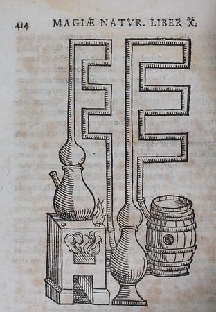 "<b>Author:</b> Giambattista della Porta <br> <b>Title:</b><i> Io. Baptistae Portae Neapolitani, Magiae natvralis libri vigintiIo. Baptistae Portae Neapolitani, Magiae natvralis libri viginti </i> (Frankfurt, 1597)<br> <b>Shelfmark:</b> H.20.32  <a href=""http://idiscover.lib.cam.ac.uk/primo-explore/fulldisplay?docid=44CAM_ALMA21392131110003606&amp;context=L&amp;vid=44CAM_PROD&amp;search_scope=SCOP_QUE&amp;tab=cam_lib_coll&amp;lang=en_US""> (catalogue record)</a>"