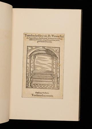 Woodcut insert, 16th century