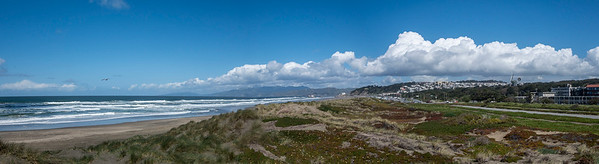 Ocean Beach From Kirkam & Great Highway Pano