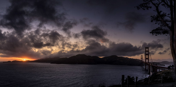 The Approaching Storm Pano