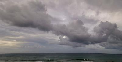 Emerald Isle Storm Pano