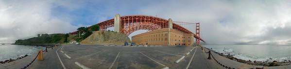 Golden Gate 360 Pano