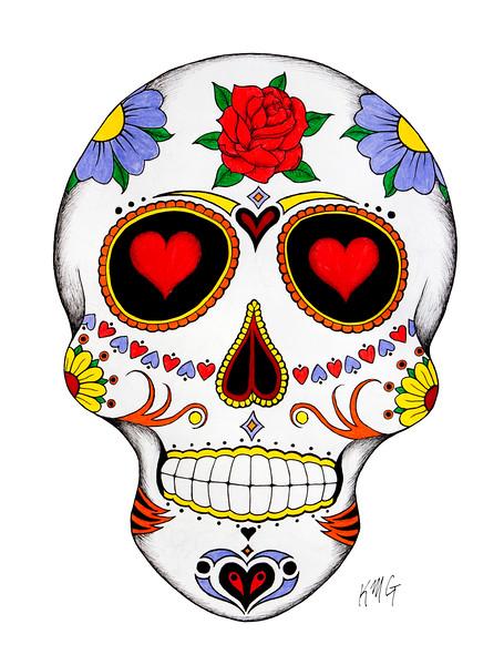 Love Sugar Skull