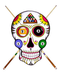 Billiard's Sugar Skull