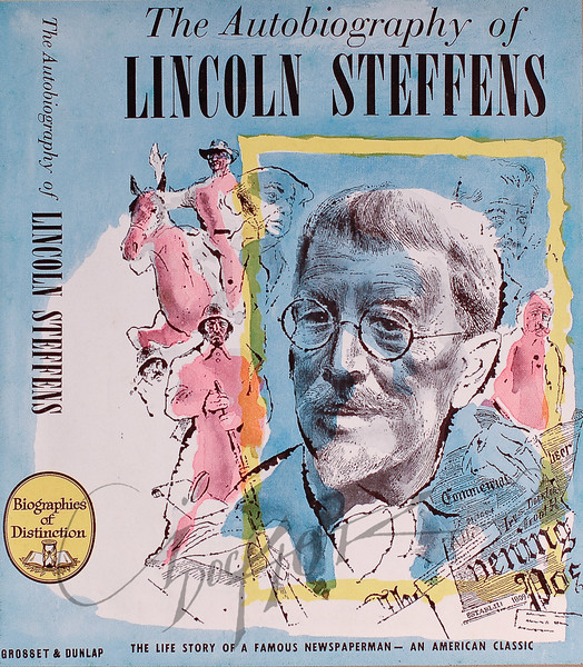 The Autobiography of Lincoln Steffens, Illustration by Irv Docktor