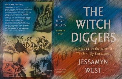 The Witch Diggers by Jessamyn West,  Illustration by Irv Docktor