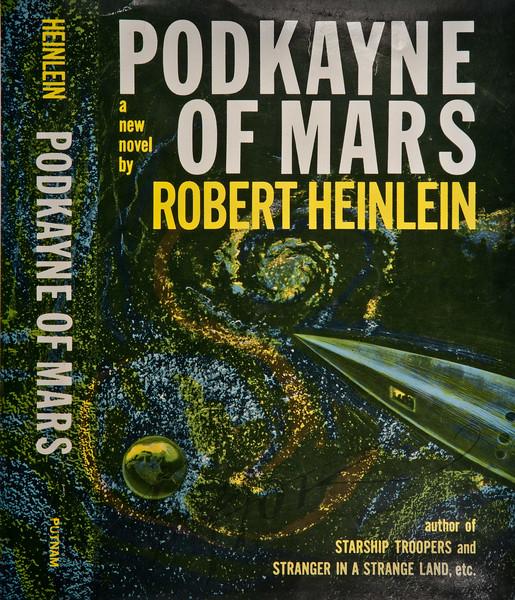 Podkayne of Mars by Robert Heinlein, Illustration by Irv Docktor