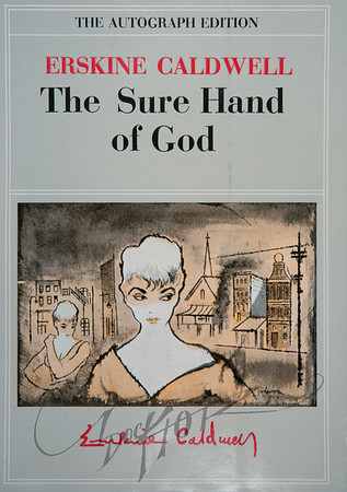 Erskine Caldwell, The Sure Hand of God (Grosset & Dunlap, 1957). Illustration by Irv Docktor