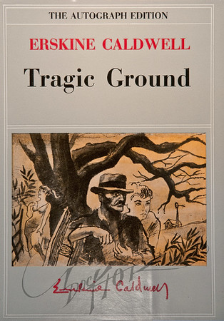 Tragic Ground by Erskine Caldwell,   Illustration by Irv Docktor