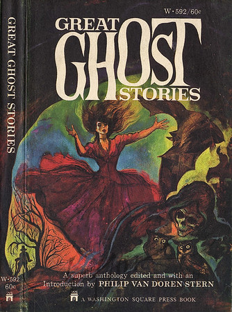 Great Ghost Stories,  Illustrated by Irv Docktor