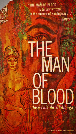The Man of Blood by Jose Luis de Vilallonga,  Illustration by Irv Docktor