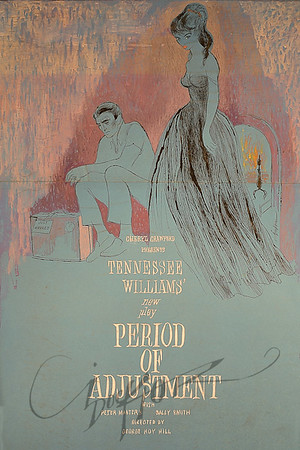 Period of Adjustment by Tennessee Williams,  Illustration by Irv Docktor