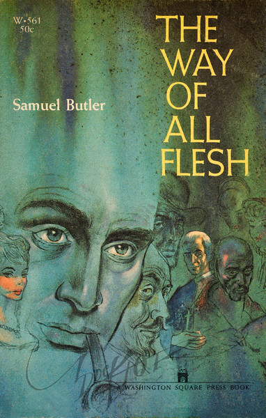 Samuel Butler, The Way of All Flesh (Washington Square Press W561, 1959). Illustration by Irv Docktor