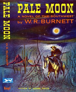 Pale Moon by W.R. Burnett,  Illustration by Irv Docktor