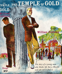 The Temple of Gold by William Goldman,  Illustration by Irv Docktor