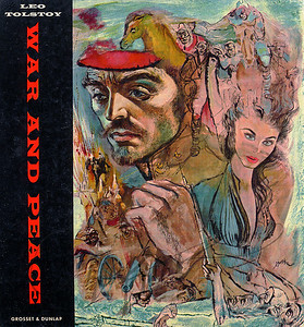 War and Peace Bookcover Illustration by Irv Docktor