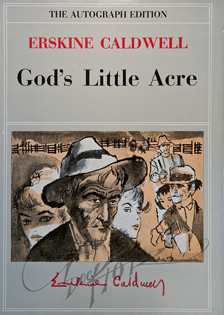 God's Little Acre by Erkine Caldwell,  Illustration by Irv Docktor