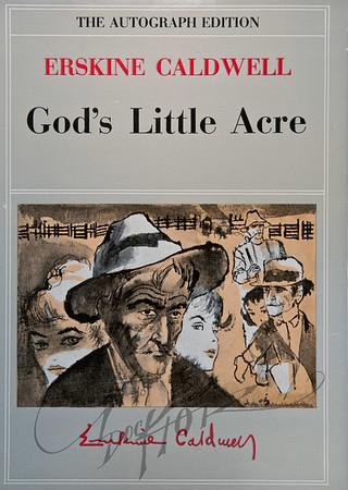 God's Little Acre by Erkine Caldwell,  Illustration by Irv Docktor