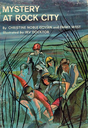Mystery at Rock City by Christine Noble Govan and Emmy West,  Illustration by Irv Docktor