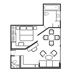 Owner's Suite Floor plan